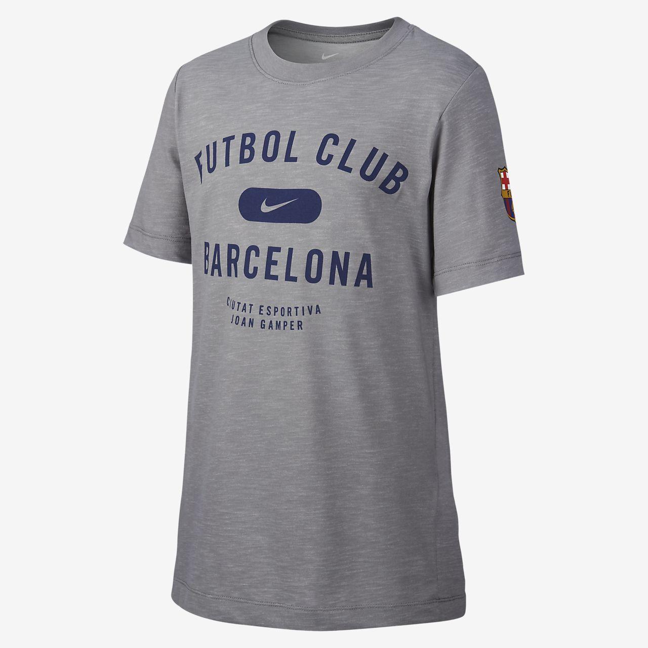 55473e21e1 Nike Dri-FIT FC Barcelona futballpóló nagyobb gyerekeknek. Nike.com HU