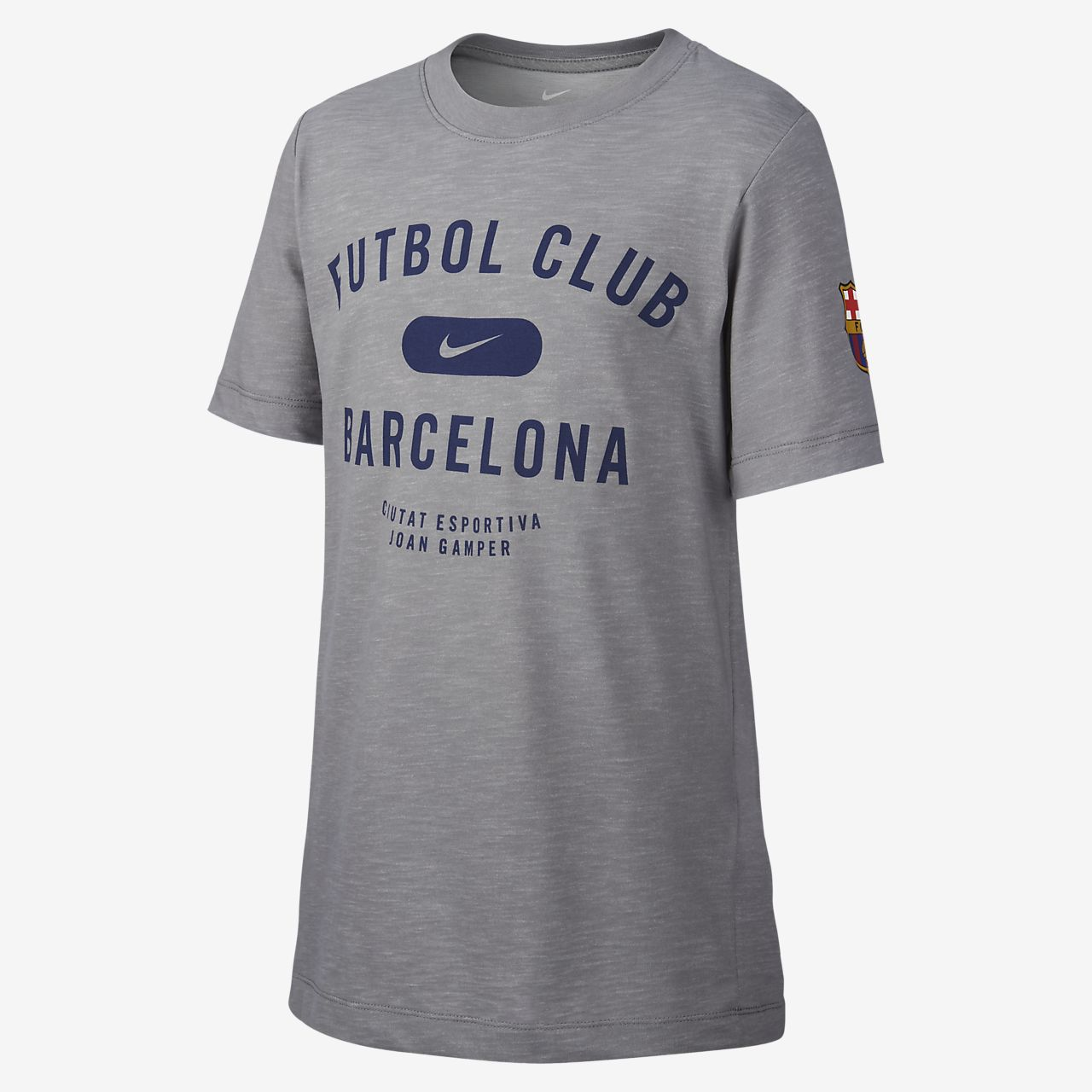 Nike Dri-FIT FC Barcelona Older Kids  Football T-Shirt. Nike.com IE 535513e4bf0
