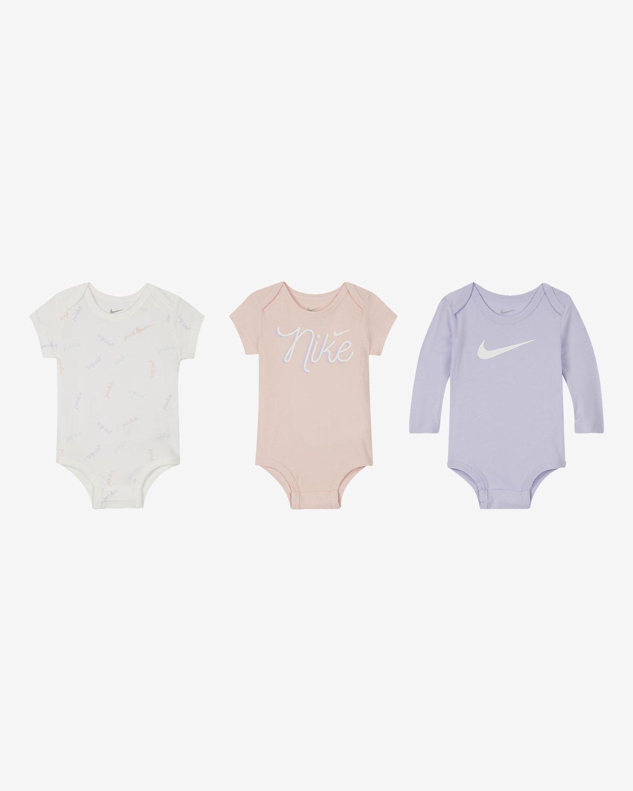 Nike Mono (3 unidades) - Bebé (0-9 M)