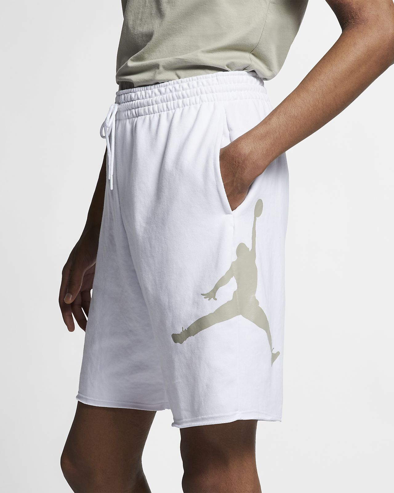 def680577ef Jordan Jumpman Logo Men's Fleece Shorts. Nike.com