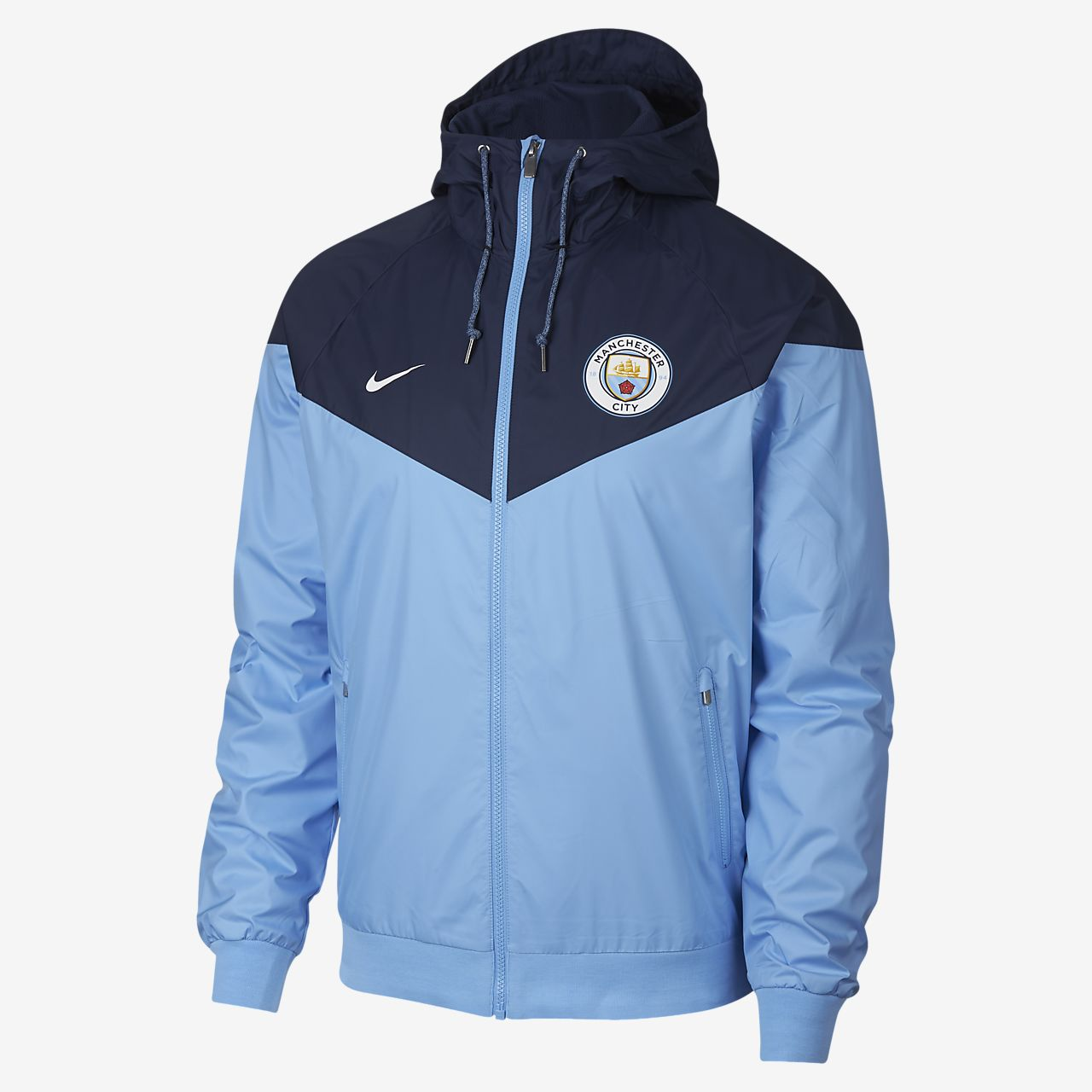 Chamarra para hombre Manchester City FC Windrunner