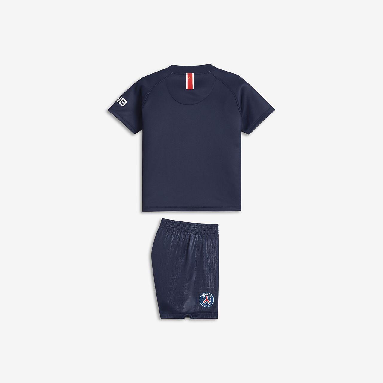 ce1052d00 2018 19 Paris Saint-Germain Stadium Home Baby Football Kit. Nike.com ZA