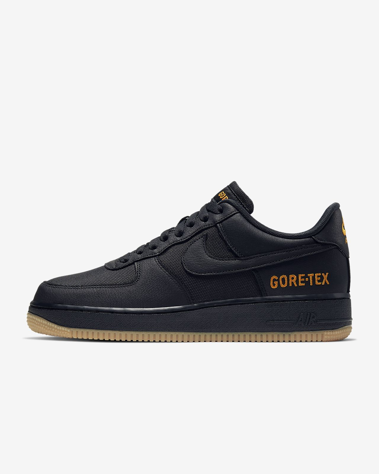 nike air force 1 scharz