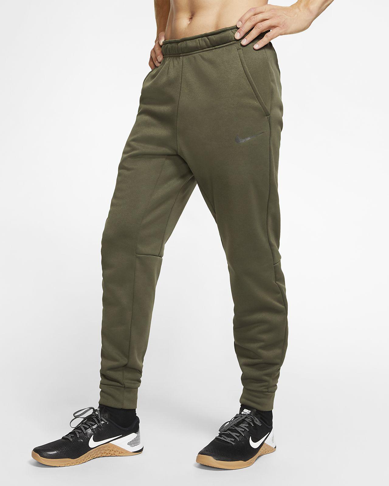Ανδρικό παντελόνι προπόνησης Nike Therma που στενεύει προς τα κάτω