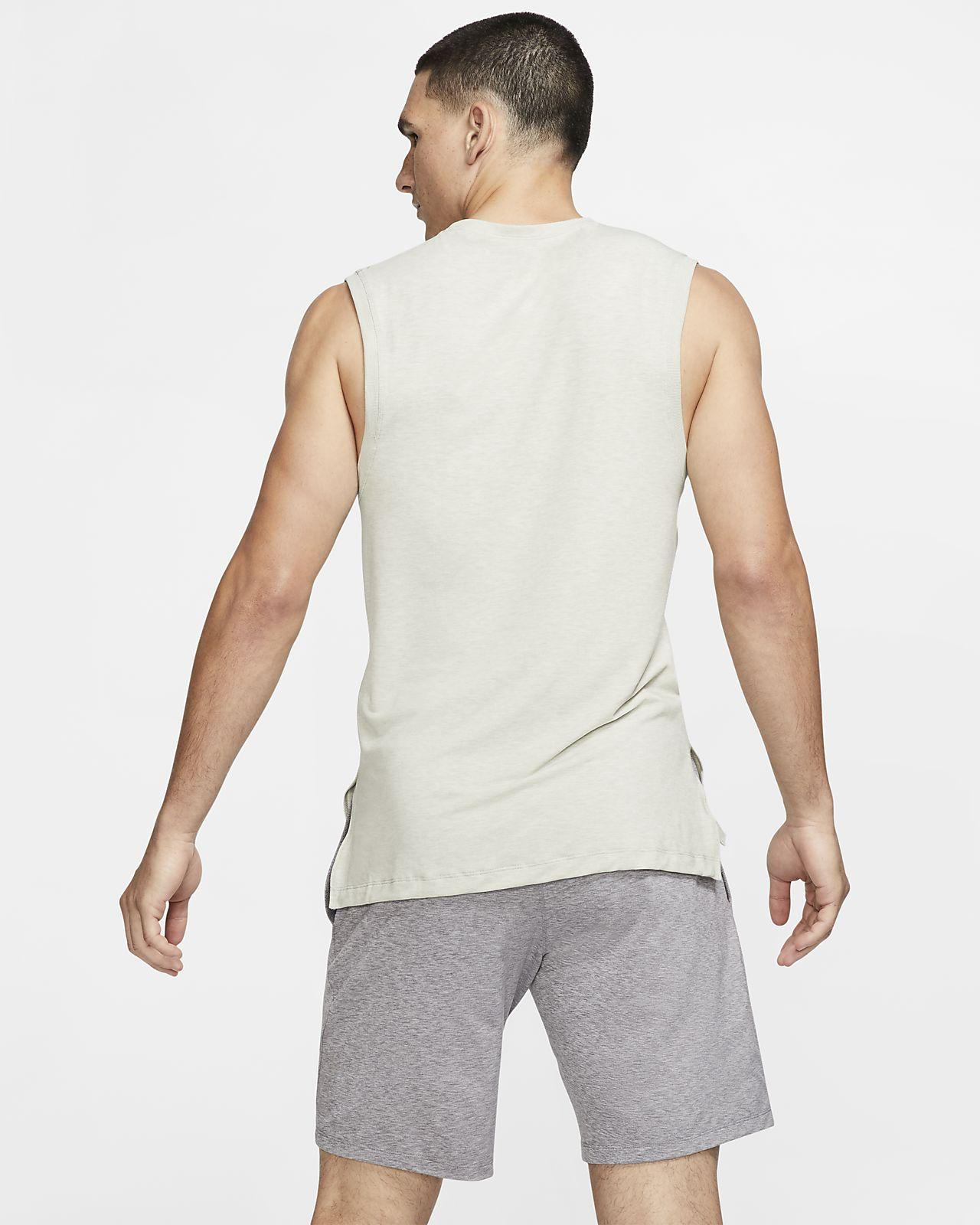 eec7970872 Nike Dri-FIT Men's Yoga Training Tank. Nike.com GB