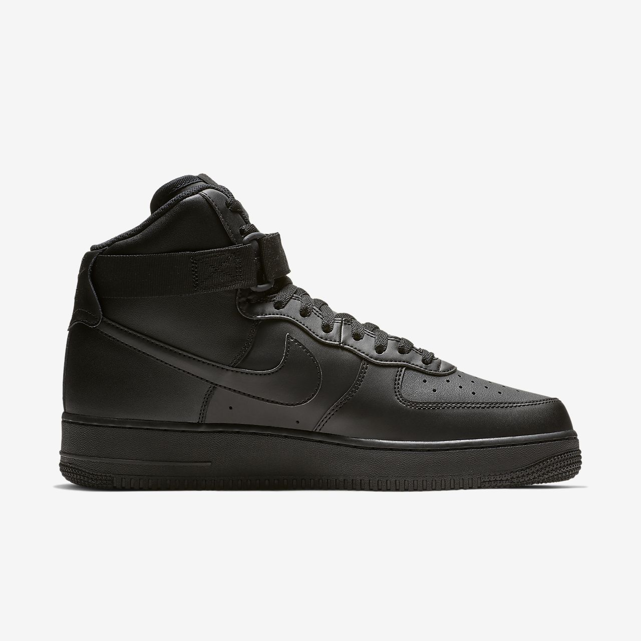 nike air force 1 black men's