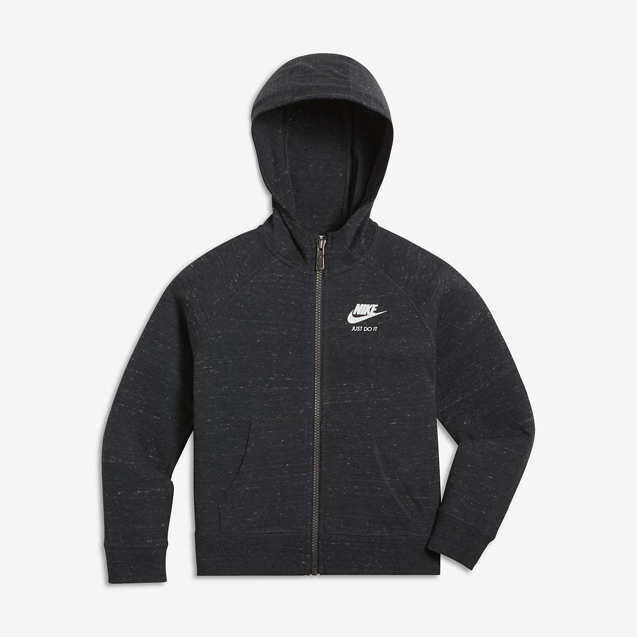 Vintage Entièrement Nike Capuche Gym Zippé Sportswear Gxatn Pour Sweat À Xn85wUq