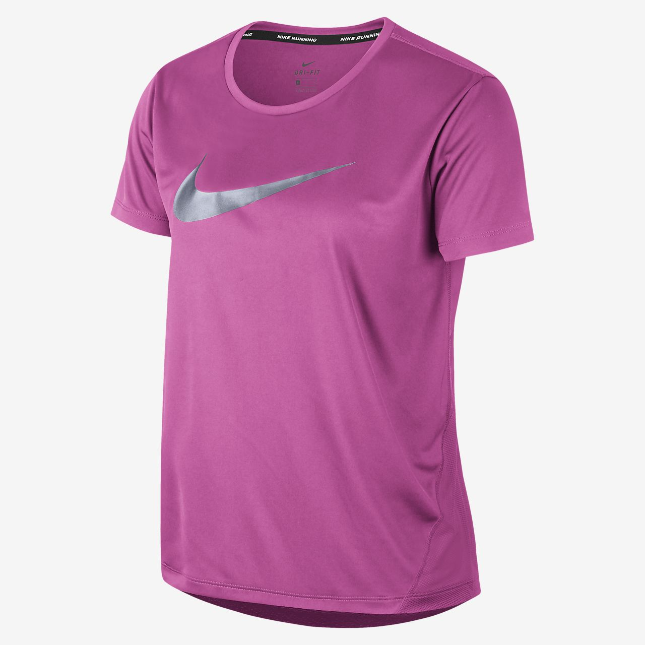 Nike NSW Icon Clash Sweat Top (Curve) Fuchsia