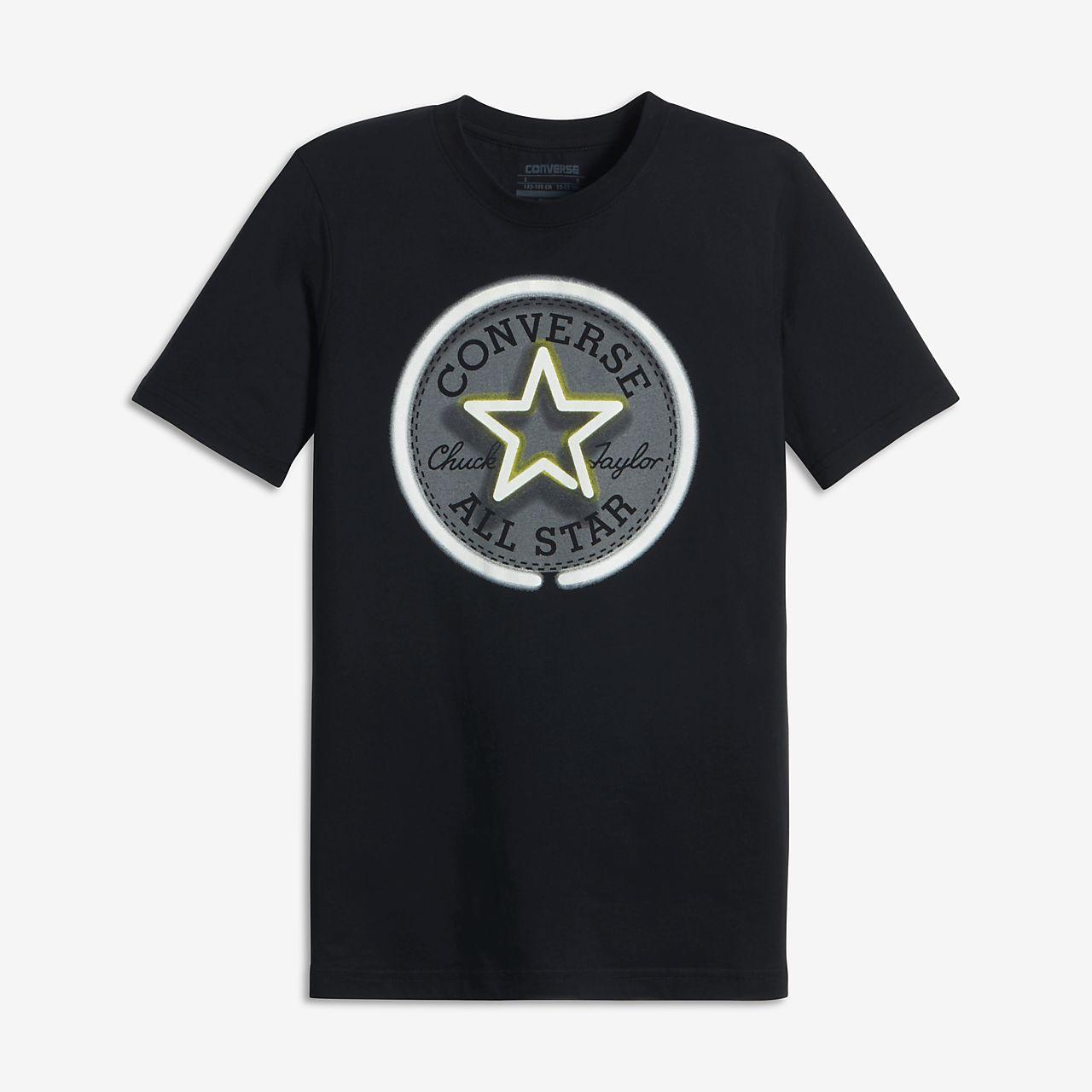 Converse Neon Chuck Patch Big Kids' (Boys') T-Shirt