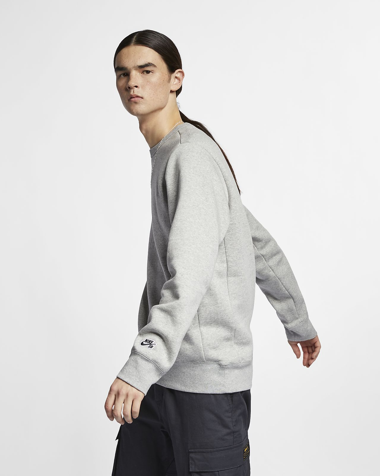 Haut de skateboard en tissu Fleece Nike SB Icon pour Homme. Nike.com FR 0e5b95564994