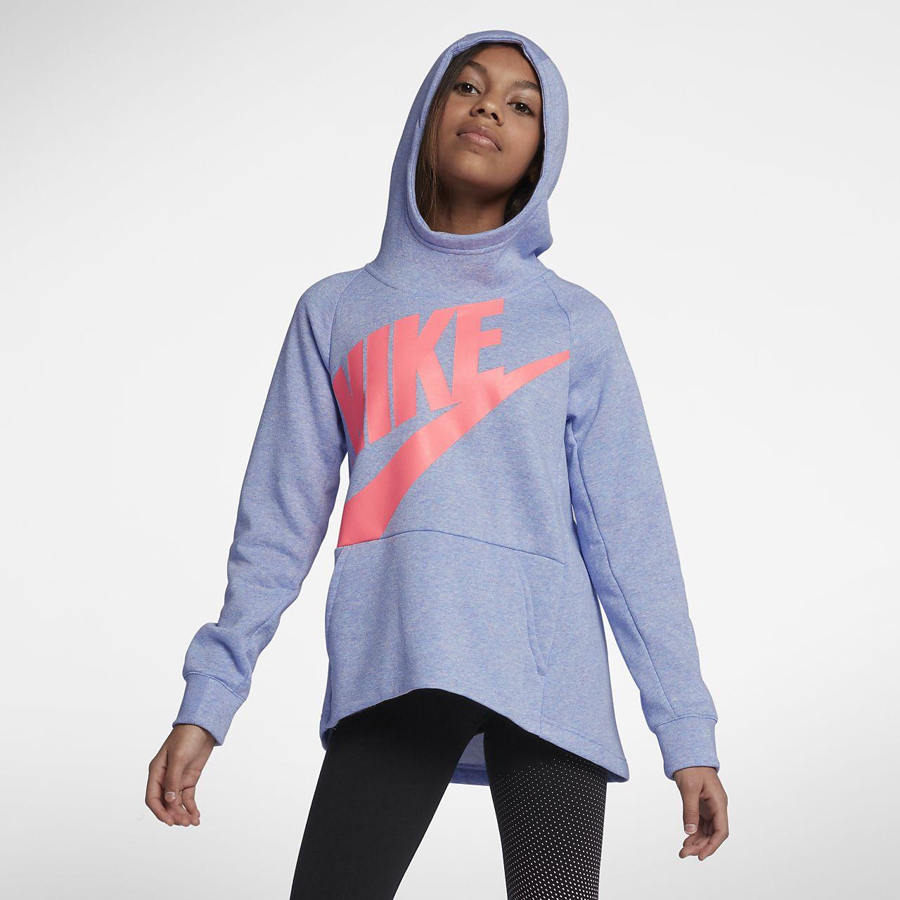 98ef61f9b995 Nike Sportswear Big Kids  (Girls ) Pullover Hoodie. Nike.com