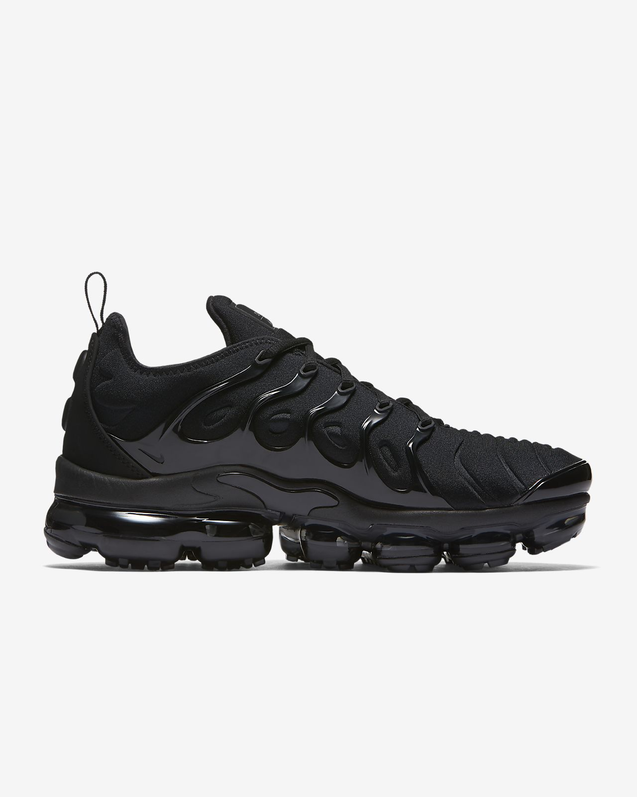 Mens and Womens Nike Air VaporMax Plus Triple White Trainers For Sale