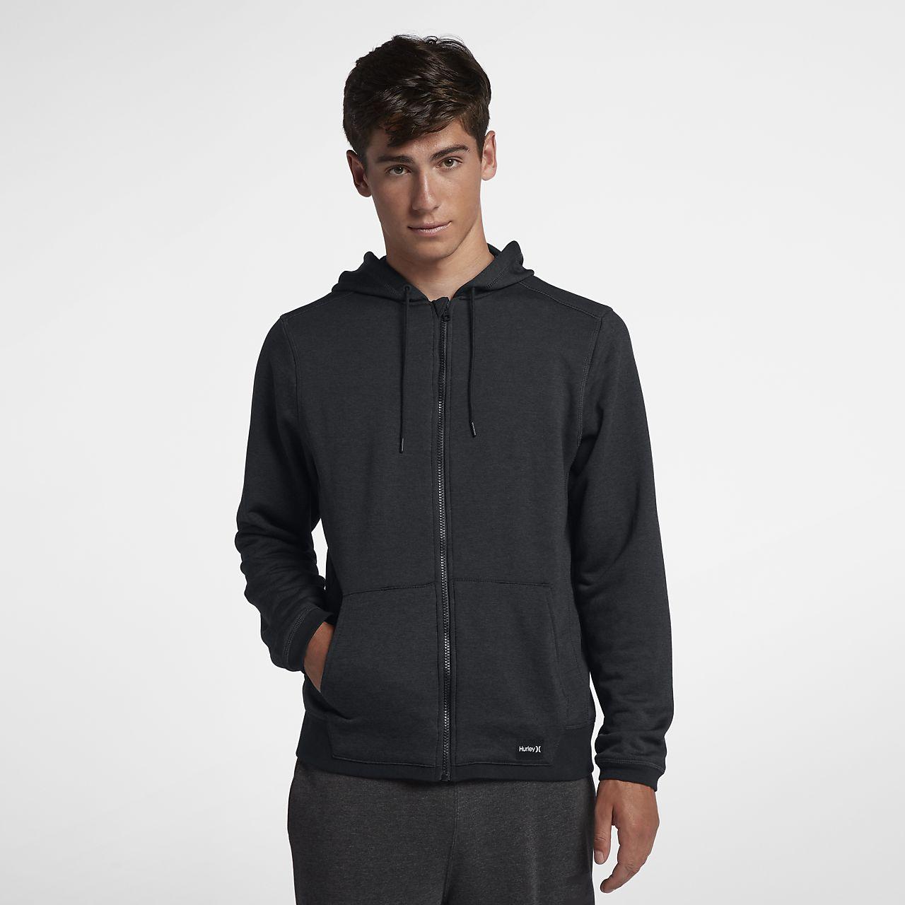 8abd35e0cd Hurley Dri-FIT Disperse hosszú cipzáras férfi kapucnis pulóver. Nike ...
