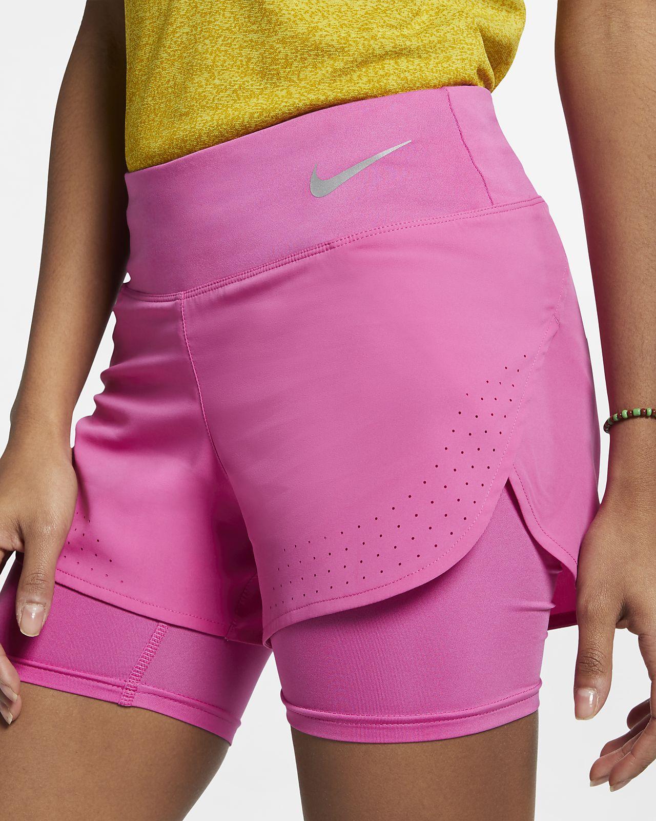 Nike Eclipse Women's 2-in-1 Running Shorts