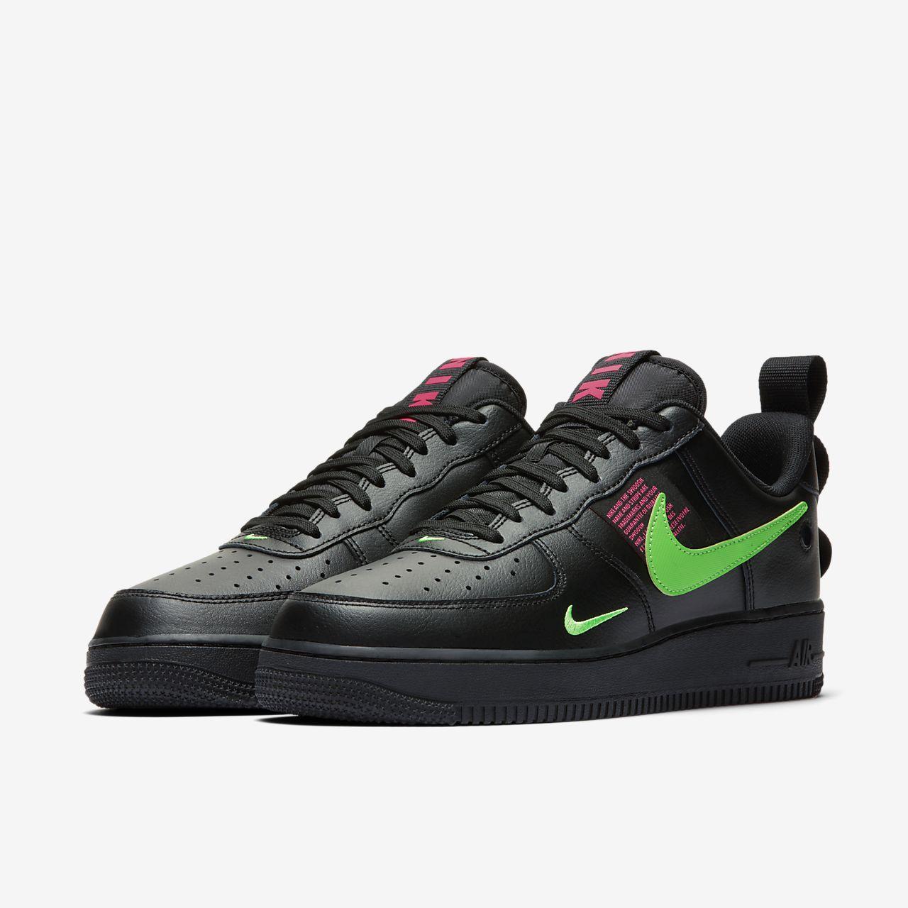 Zapatillas Nike Air Force 1 Lv8 Negras Y Beige Hombre