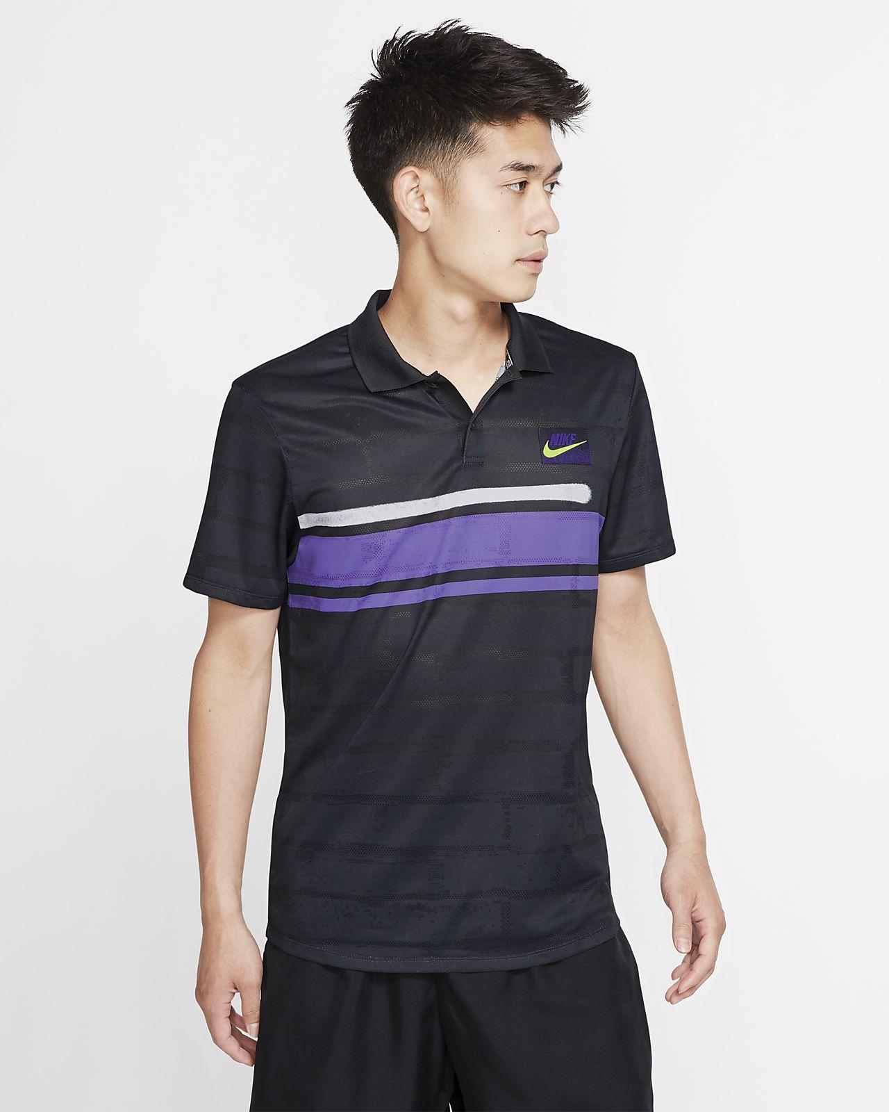 Polo de tennis NikeCourt Advantage pour Homme