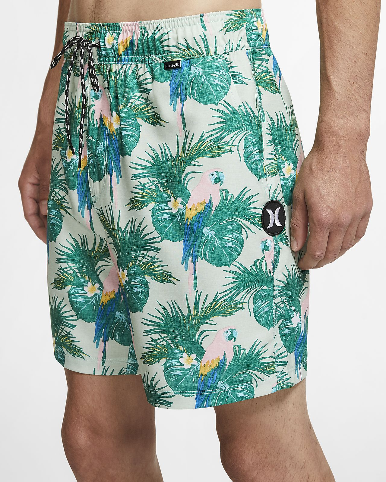 Shorts de playa de 43 cm para hombre Hurley Sierra Volley