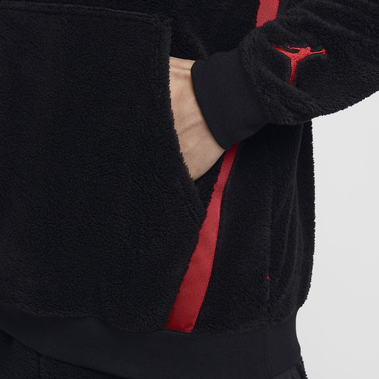 a865c3829029d Jordan Sportswear Wings of Flight Men s Sherpa Pullover Hoodie. Nike.com