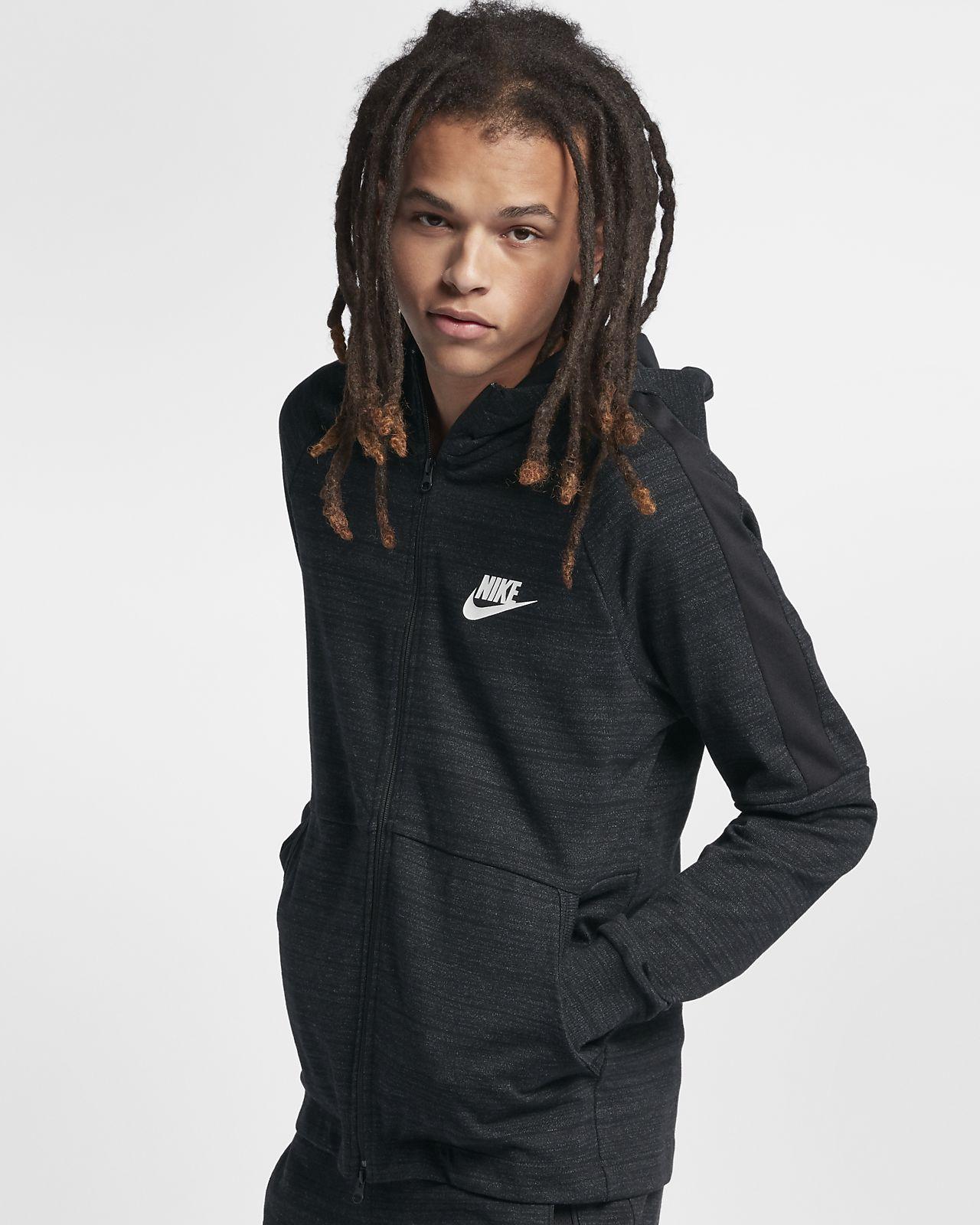 b69375db9d2d Nike Sportswear Advance 15 Men s Full-Zip Hoodie. Nike.com GB