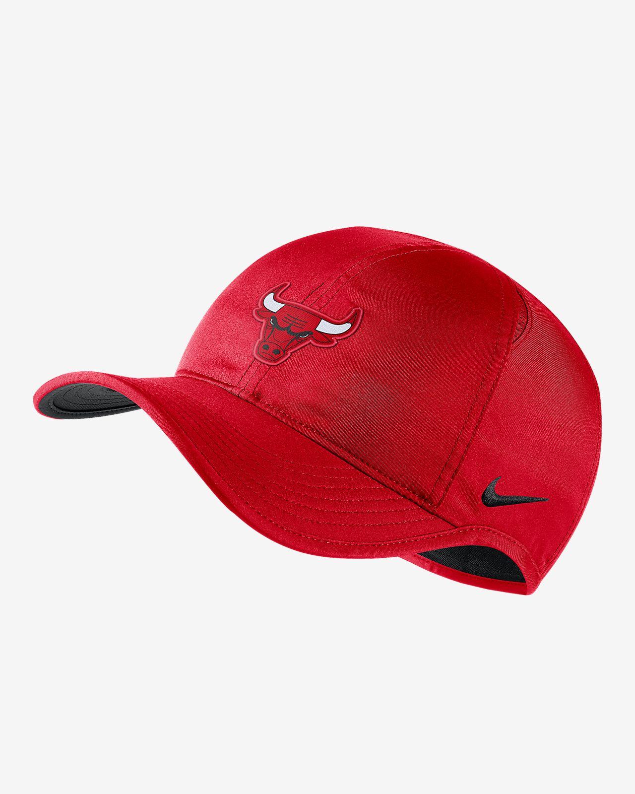 48af1881dac Chicago Bulls Nike AeroBill Featherlight NBA Hat. Nike.com