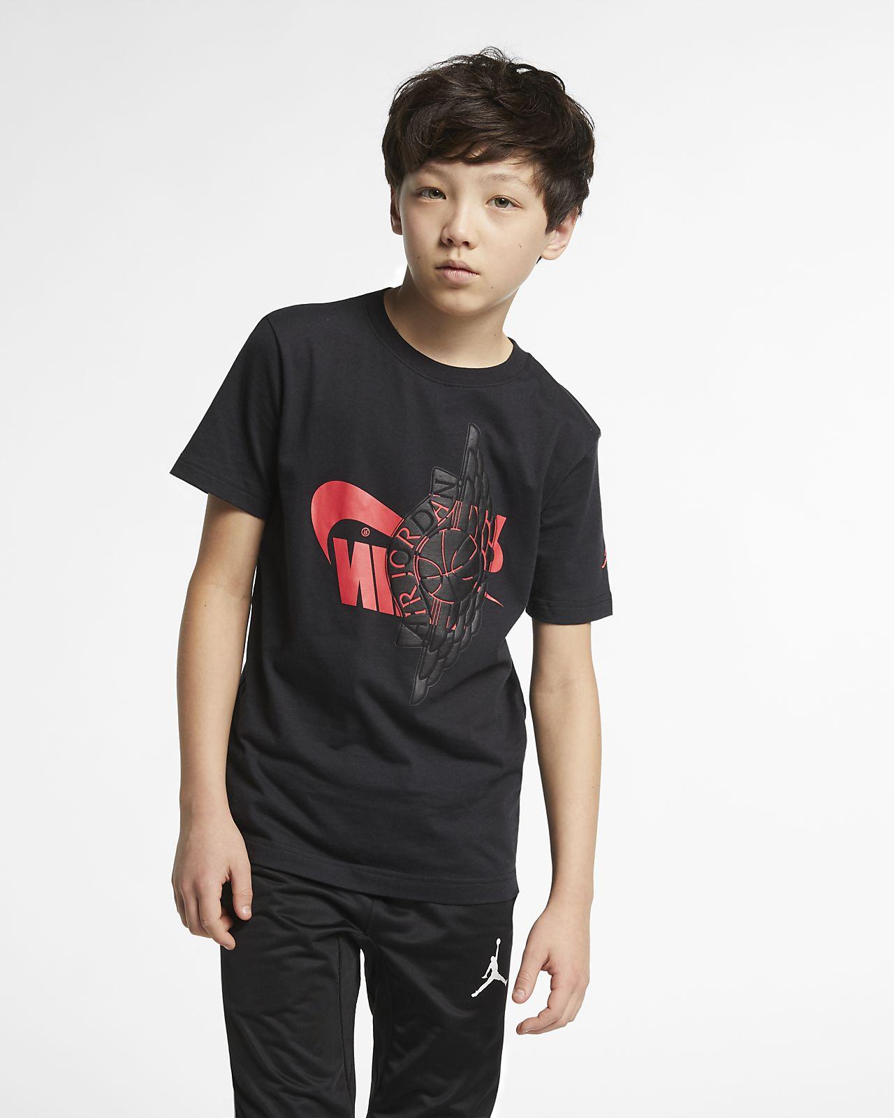 1a076bf22c6 Jordan Sportswear Wings Older Kids' (Boys') T-Shirt. Nike.com GB