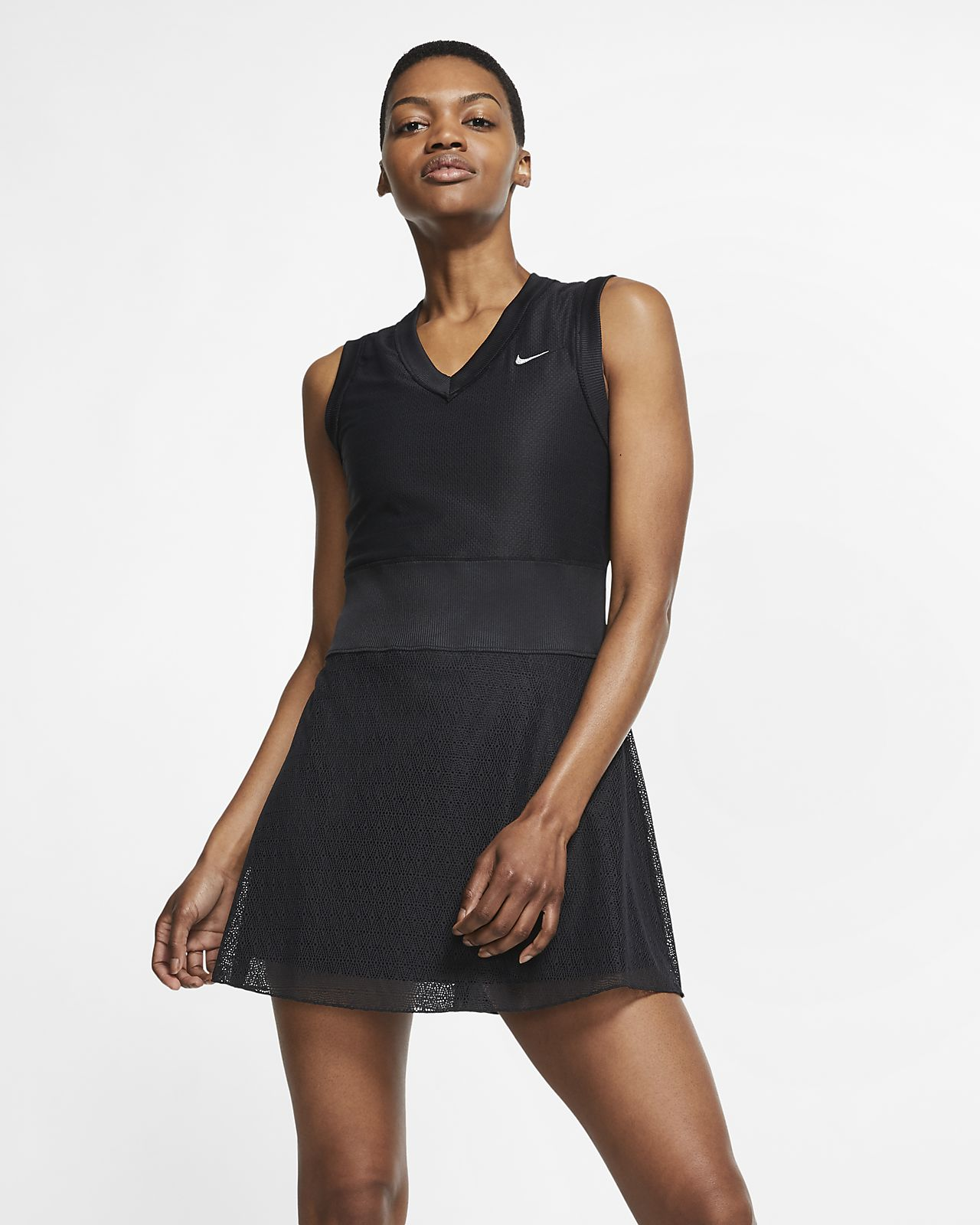NikeCourt Slam Damen-Tenniskleid