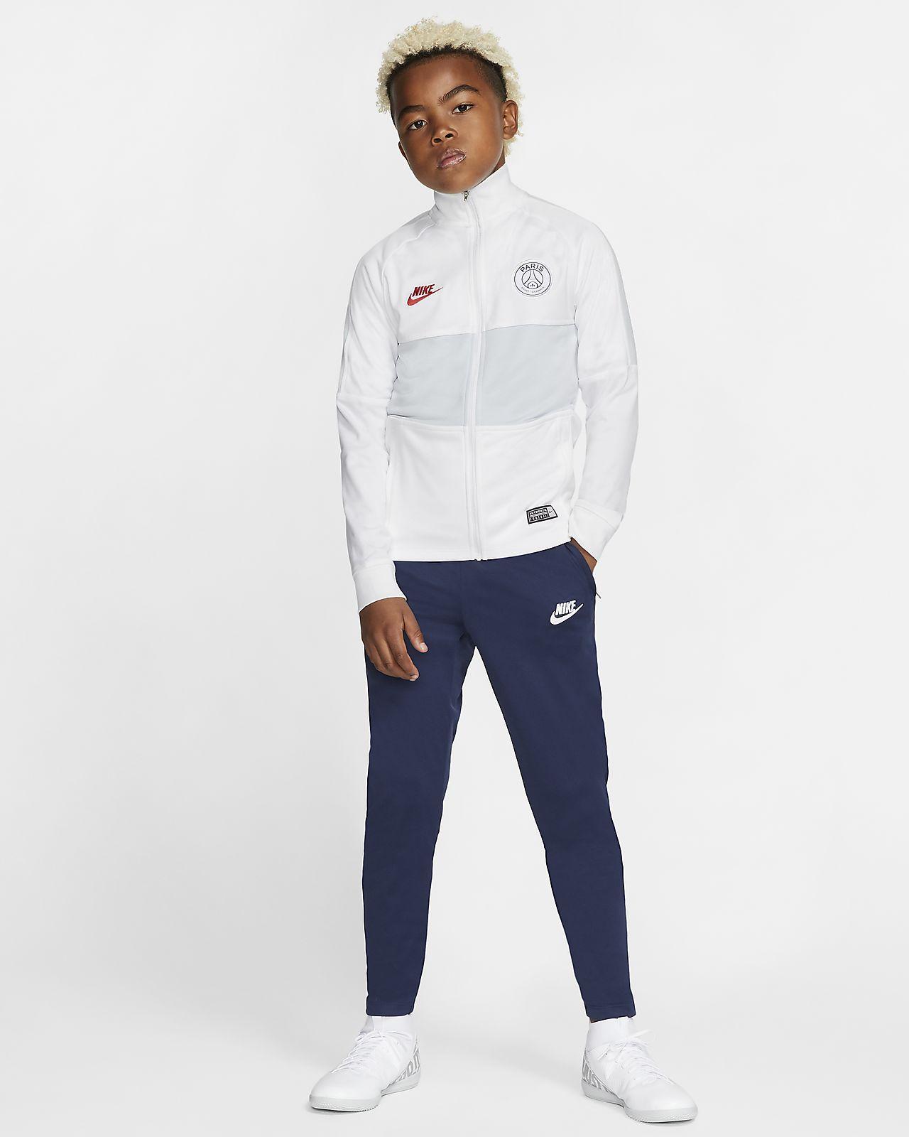 Ποδοσφαιρική φόρμα Nike Dri-FIT Paris Saint-Germain Strike για μεγάλα παιδιά