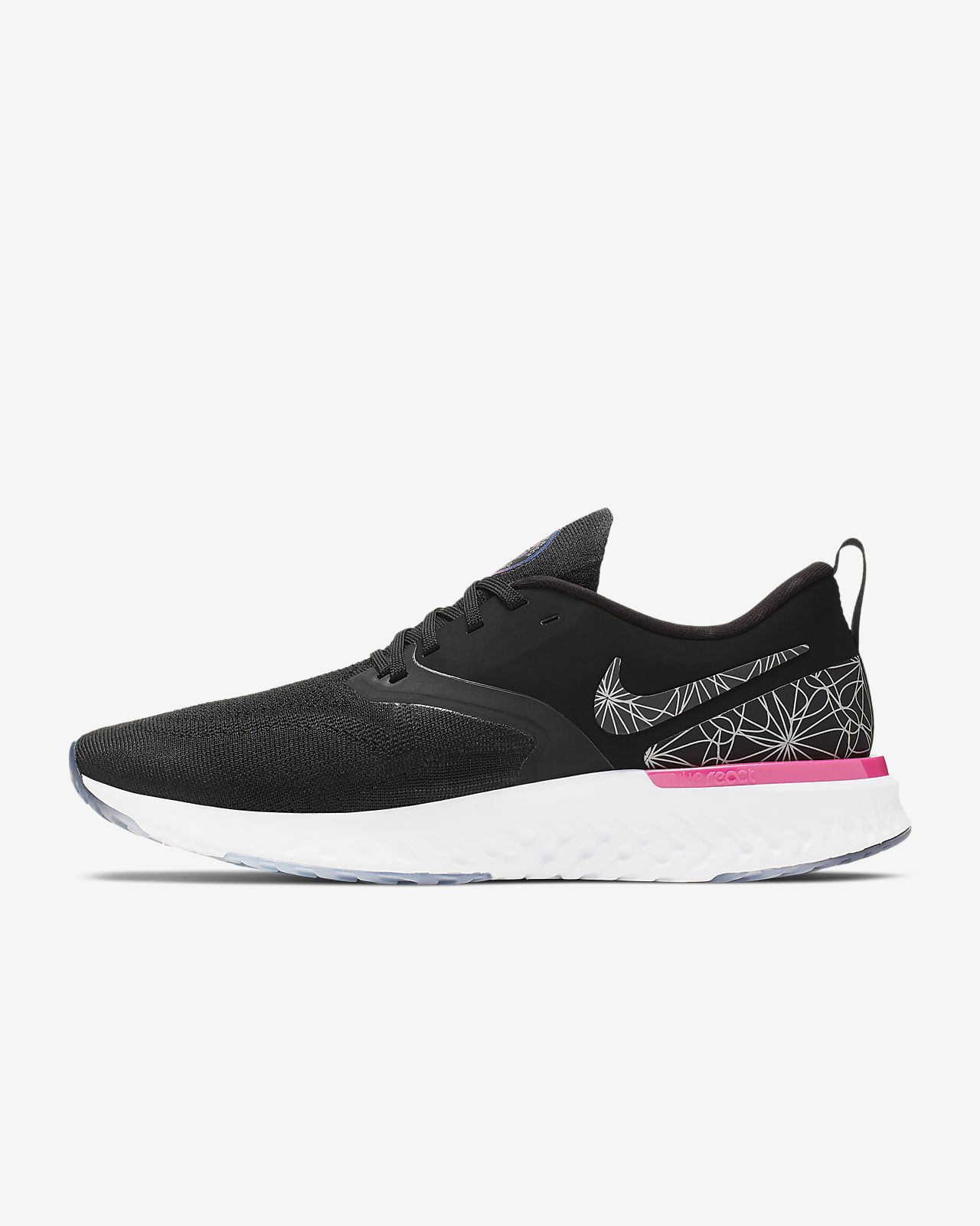 Nike Odyssey React Flyknit 2 Men's Graphic Running Shoe