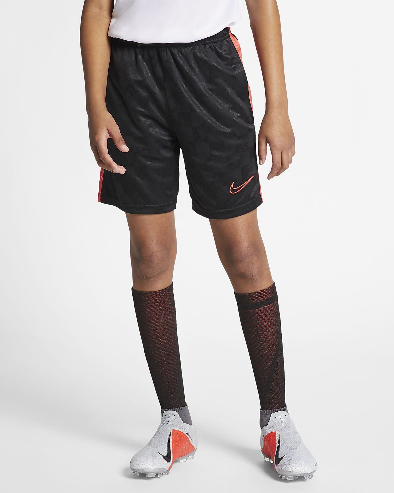 Shorts de fútbol para niños talla grande Nike Breathe Academy