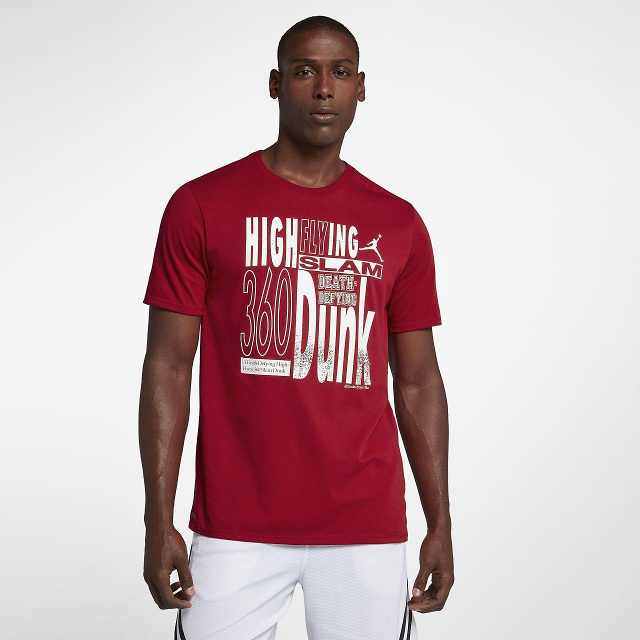 "Мужская баскетбольная футболка Jordan ""High Flying"". Nike.com RU ce7c14b44a6"