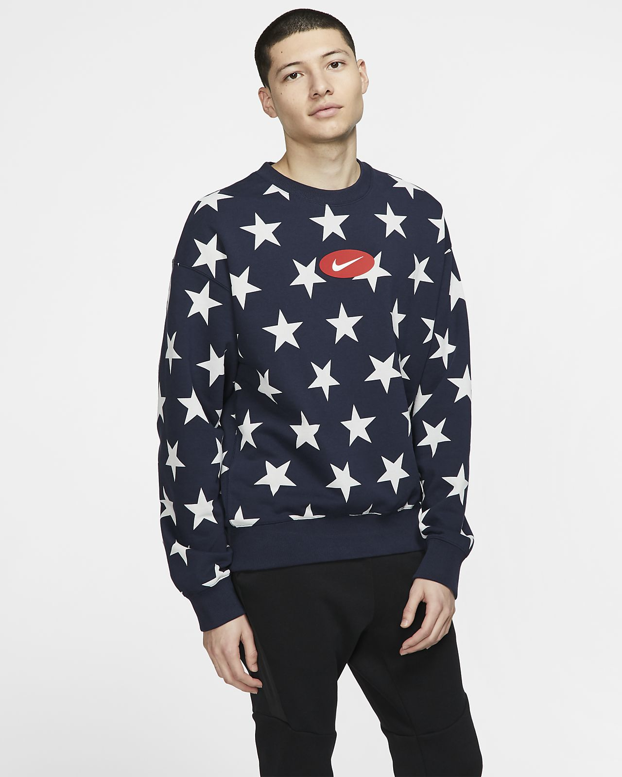 NikeLab Collection Fleece-Rundhalsshirt für Herren