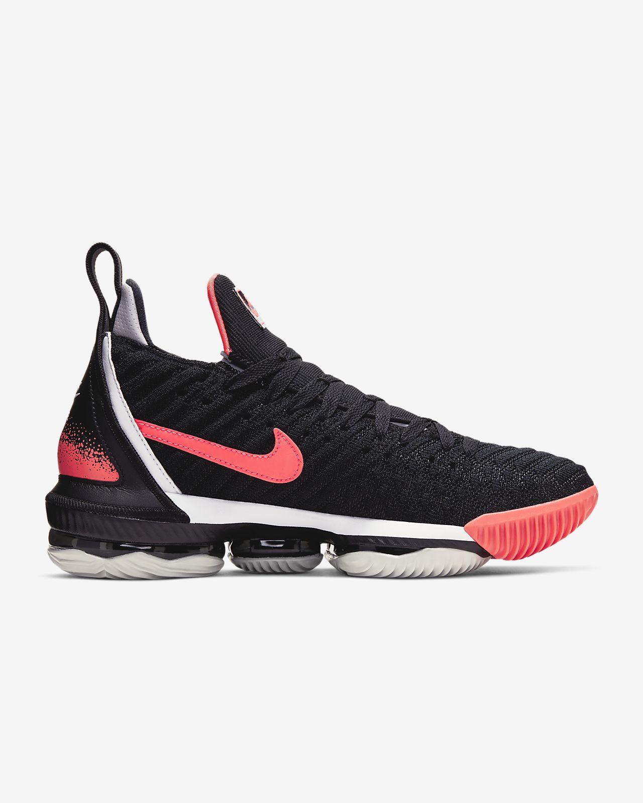 5d29eca0a9e84 LeBron XVI Hot Lava Shoe