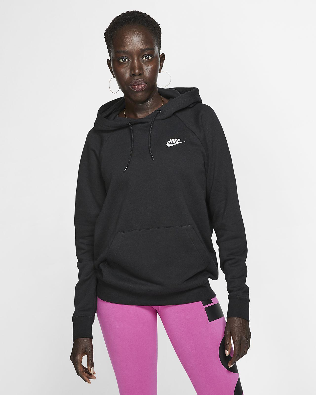 Fleecehuvtröja Nike Sportswear Essential för kvinnor