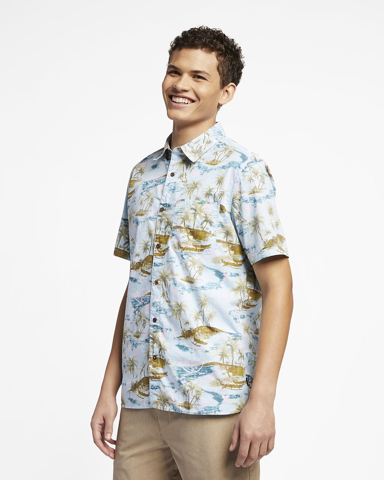 Hurley Outrigger Smiley Men's Shirt