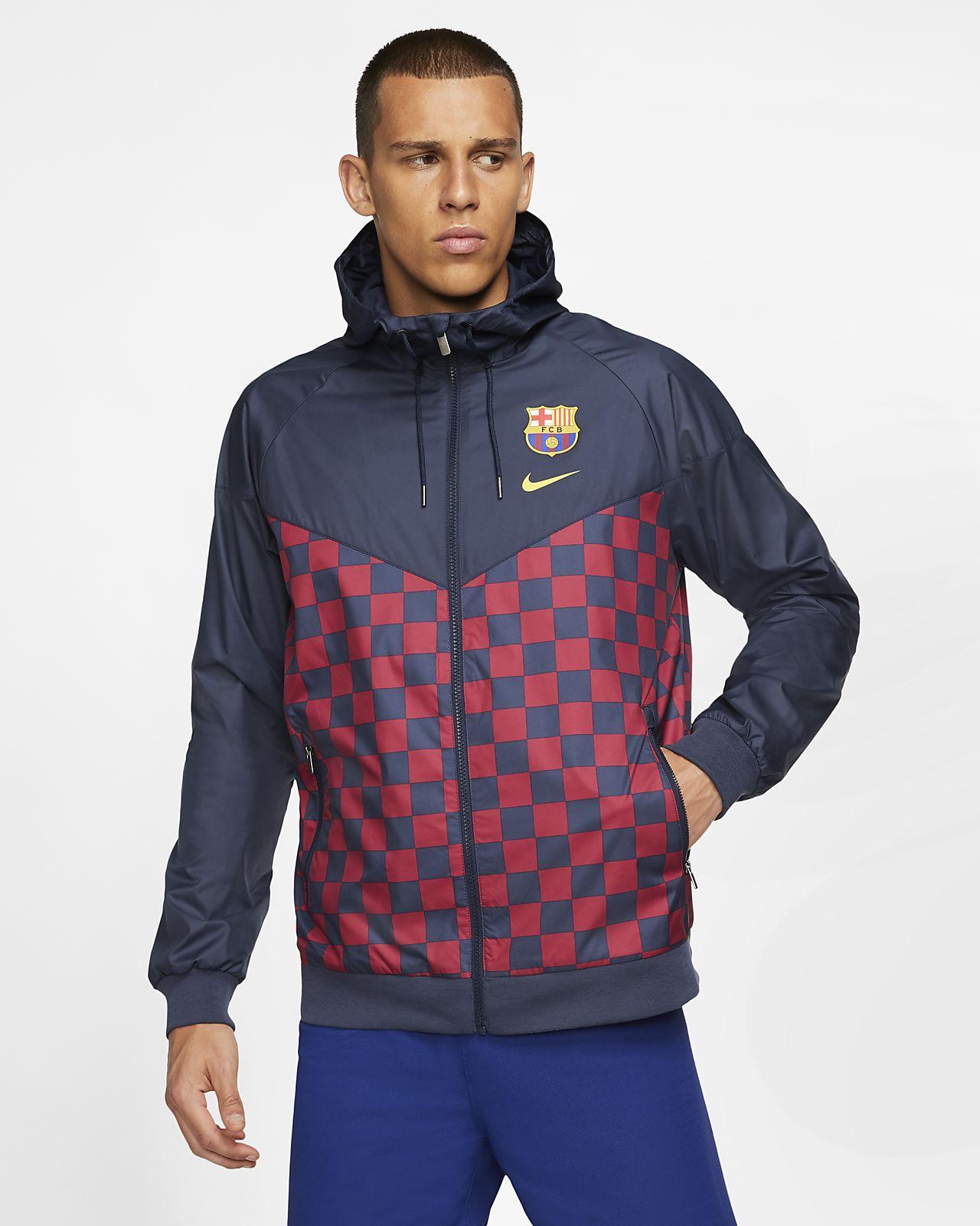FC バルセロナ ウィンドランナー メンズジャケット