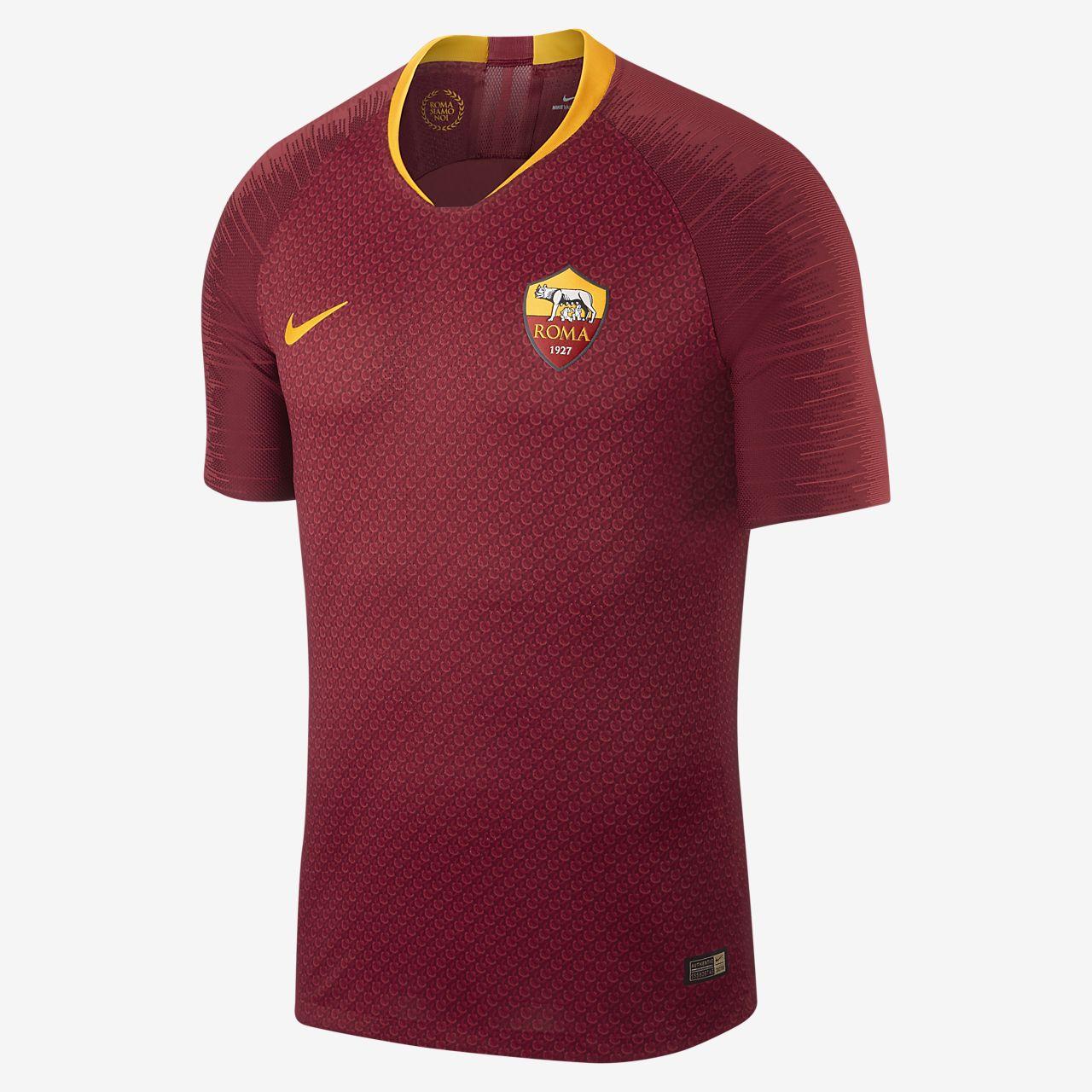 Fotbollströja 2018/19 A.S. Roma Vapor Match Home för män