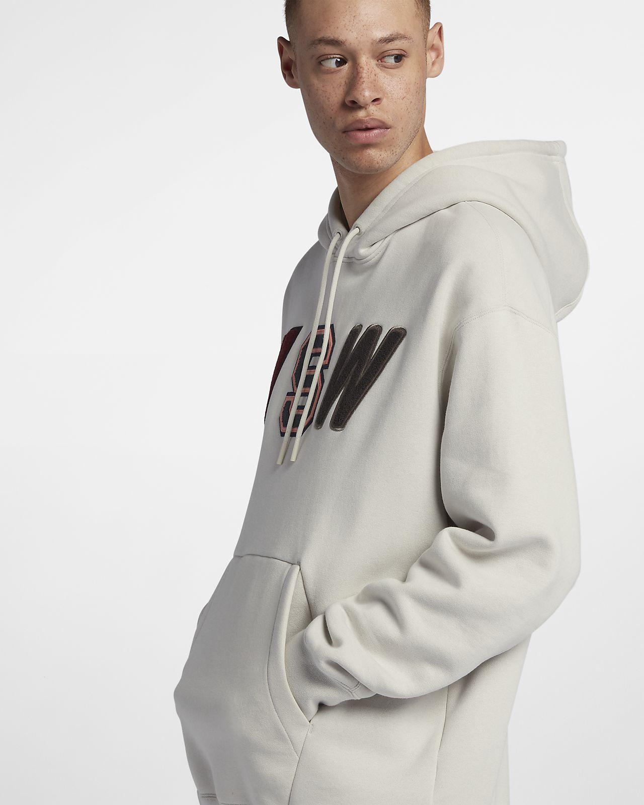 Sportswear NSW Men's Loose Fit Fleece Hoodie. Nike GB