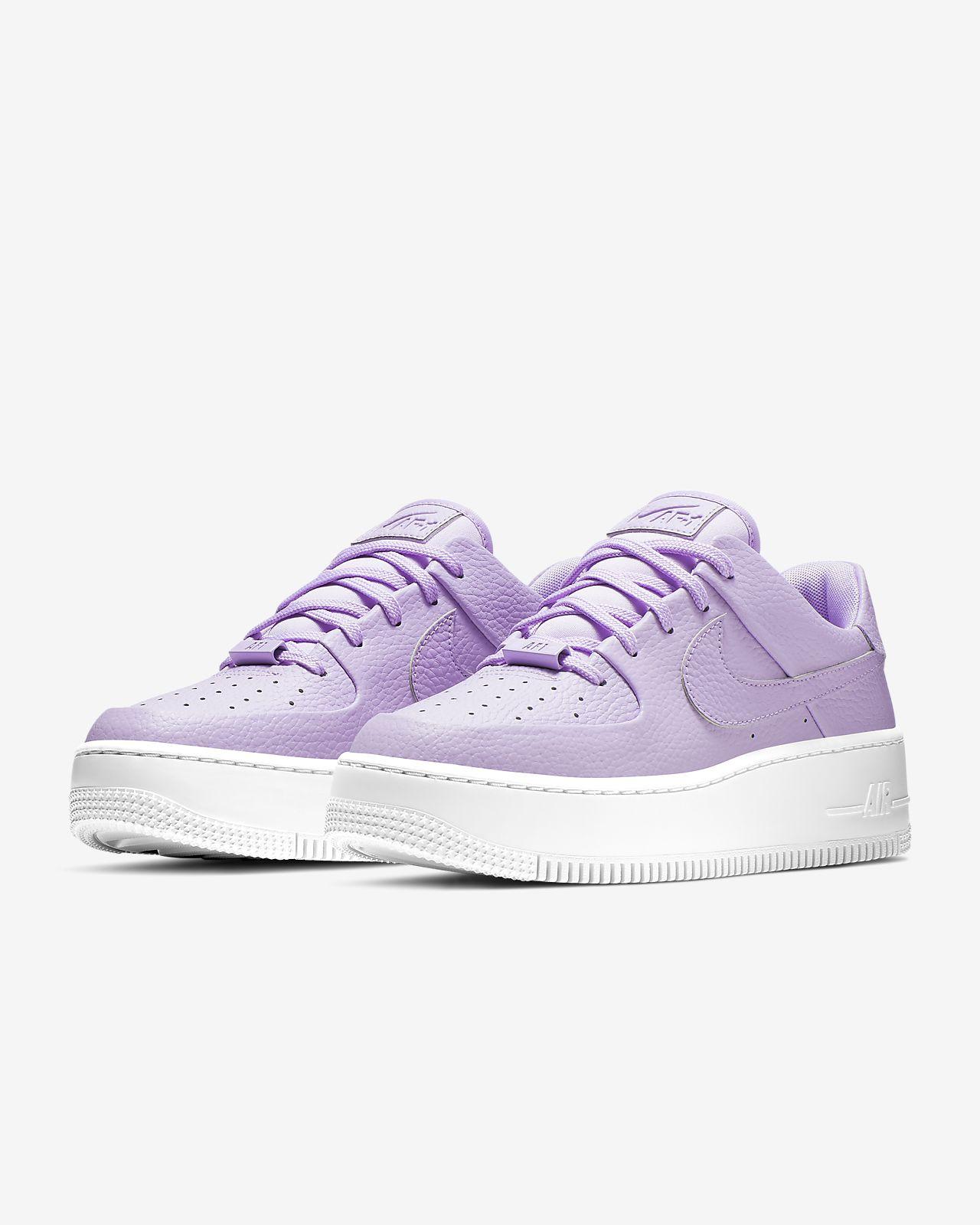 meet 5f27a fe0c5 Nike Air Force 1 Sage Low-sko til kvinder. Nike.com DK