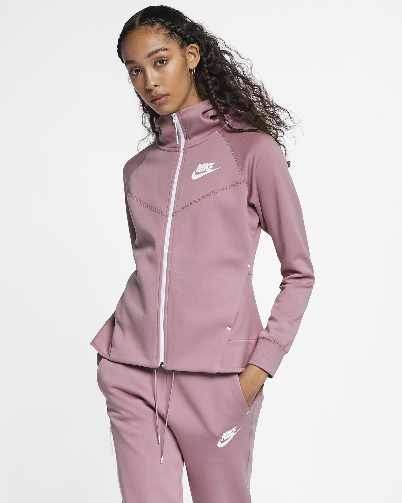 980804f5dc1a Nike Sportswear Tech Fleece Windrunner Women s Full-Zip Hoodie. Nike ...