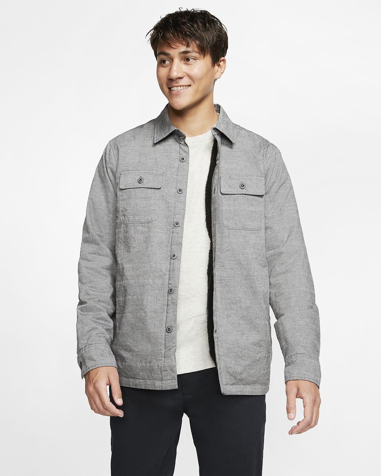 Hurley Cooper Washed Men's Long-Sleeve Shacket
