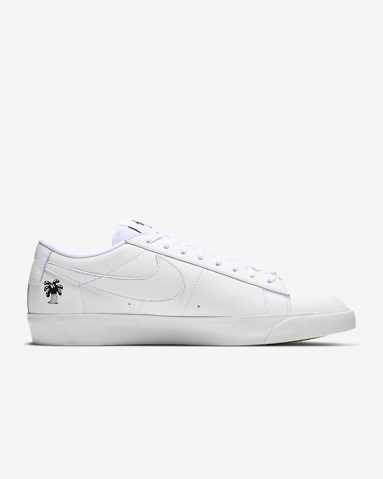 b03a353e00 Nike Blazer Low QS Flyleather with at least 50% leather fibre Men's Shoe