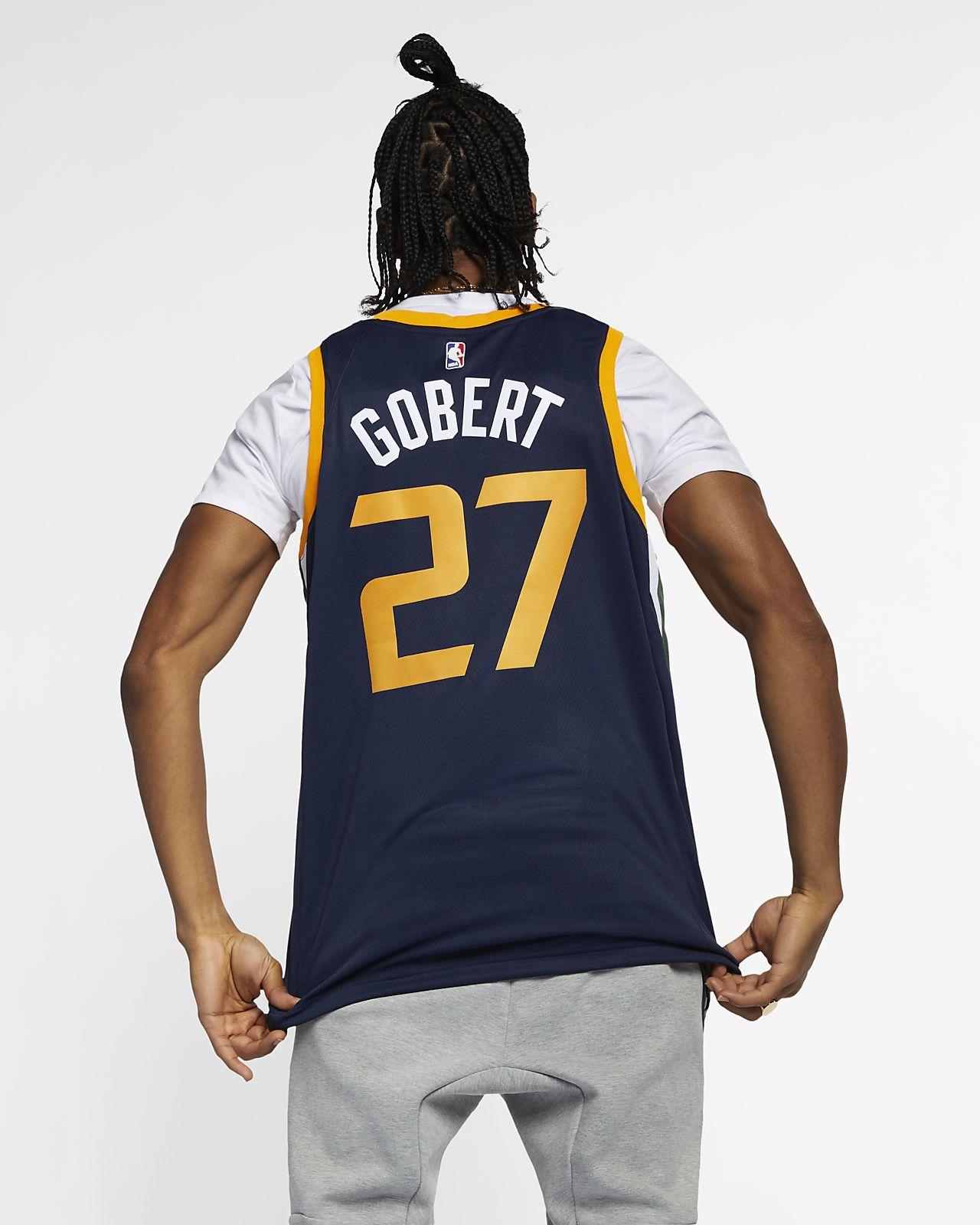 d66ad0e2a5f2 ... Rudy Gobert Icon Edition Swingman (Utah Jazz) Men s Nike NBA Connected  Jersey