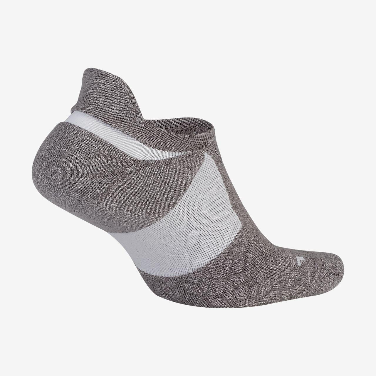 Nike Elite Cushioned No-Show 跑步專用襪