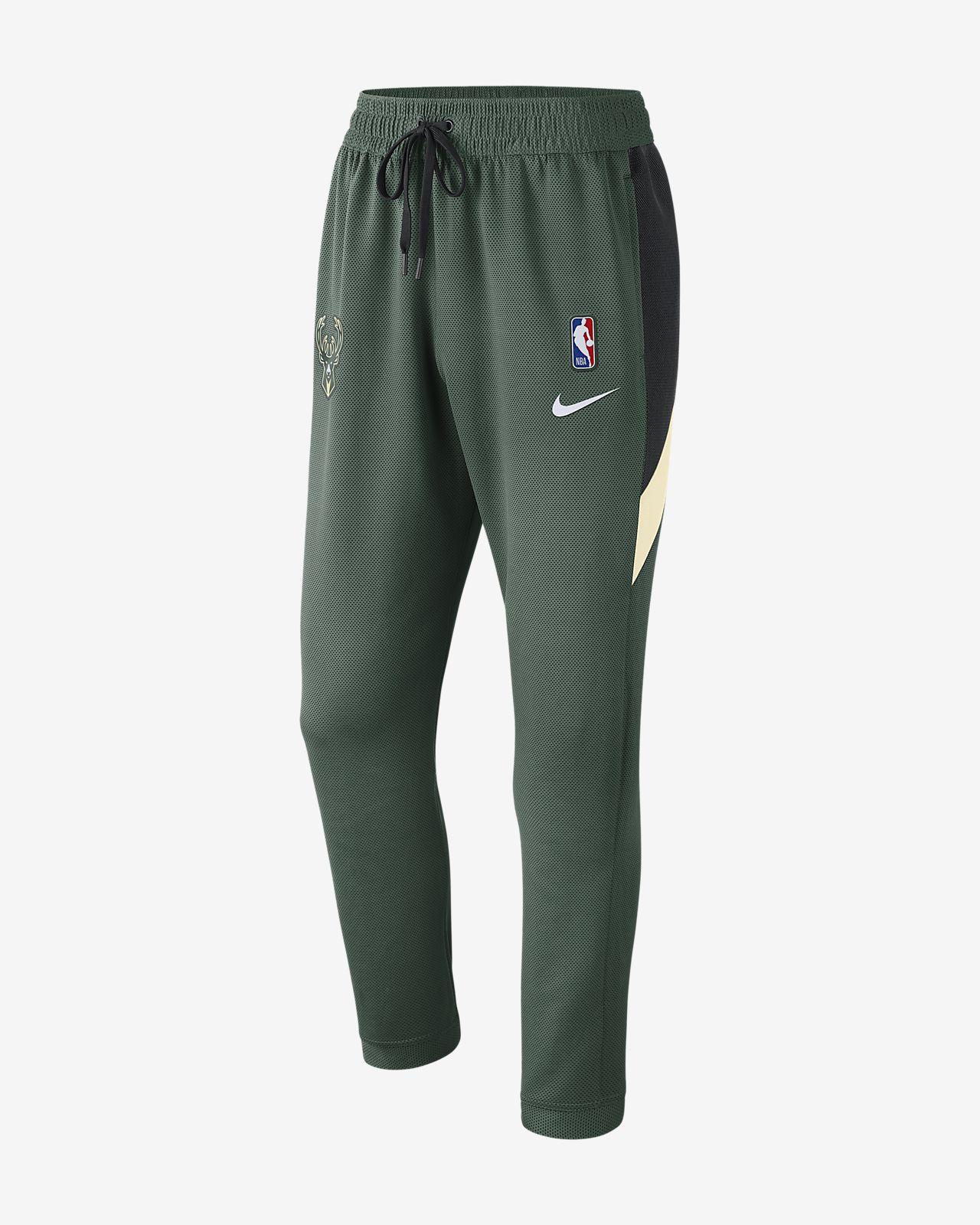 Pantalones de la NBA para hombre Milwaukee Bucks Nike Therma Flex Showtime