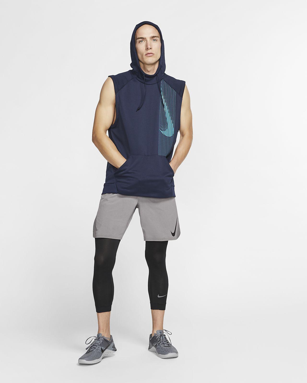 57ce7678 Nike Dri-FIT Men's Sleeveless Training Hoodie. Nike.com CA