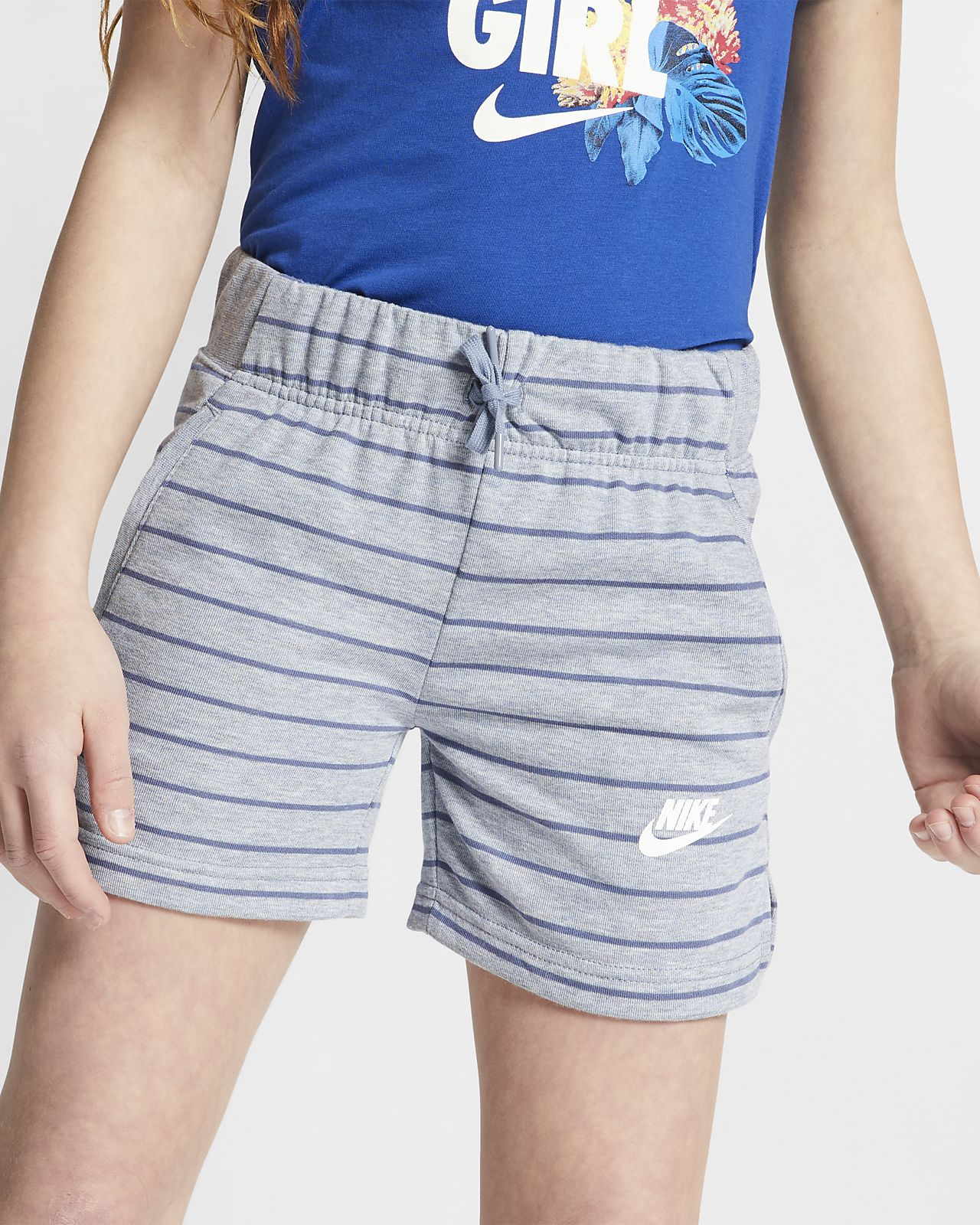 Nike Sportswear shorts til store barn (jente)