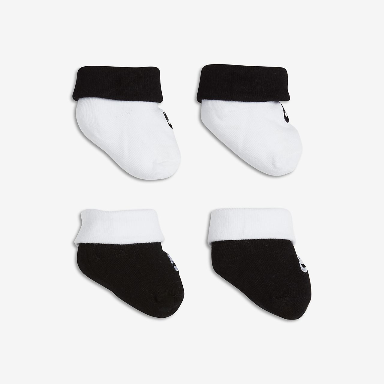 Nike Futura Baby and Toddler Booties (2 Pair)