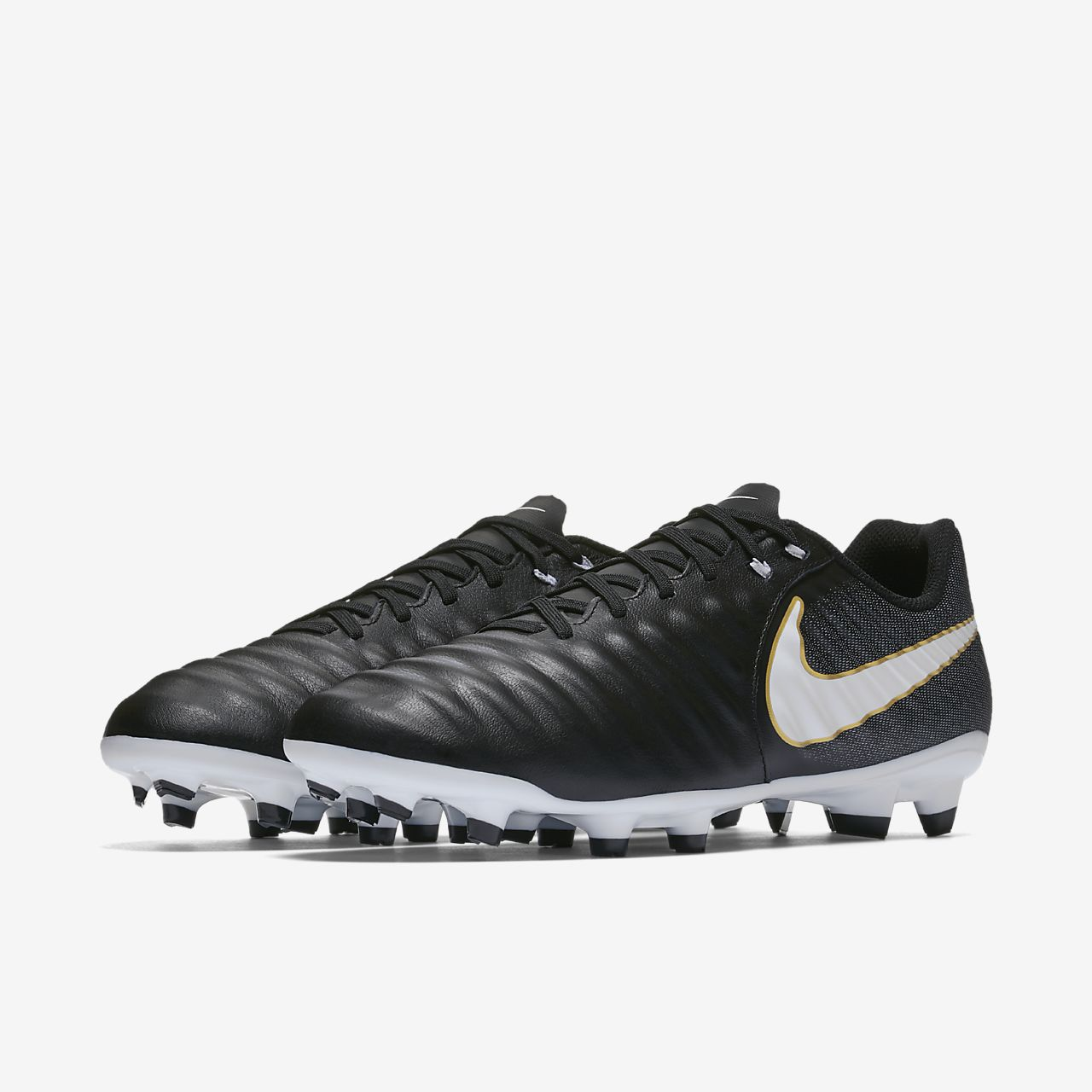 Nike Tiempo Ligera IV Firm-Ground Men's Football Boots Blue/White bR8307N
