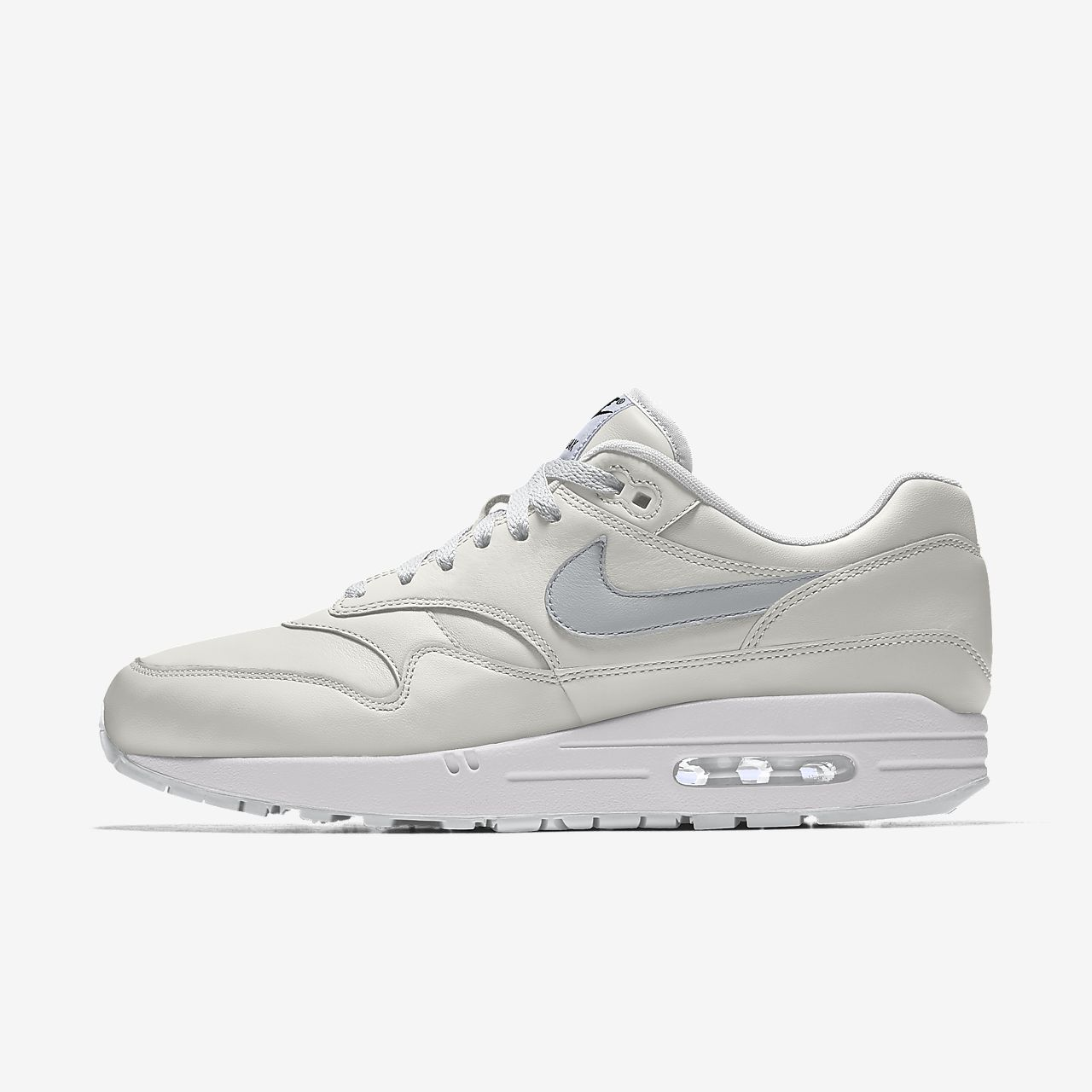 Nike Air Max 1 By You tilpasset sko til dame