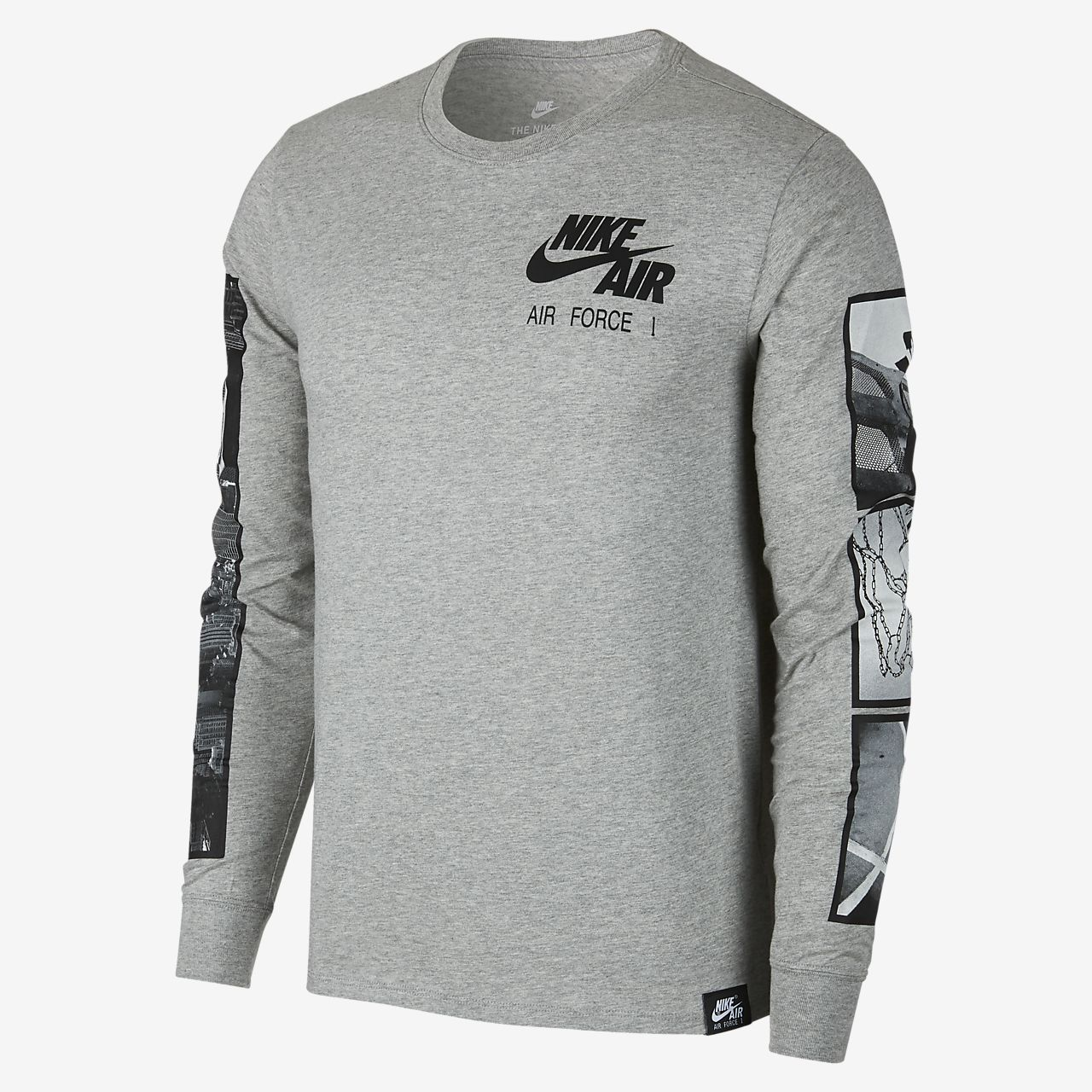 Nike Sportswear Air Force 1 男子长袖T恤
